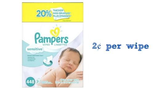 Pampers Sensitive Wipes More Amazon Deals Southern Savers