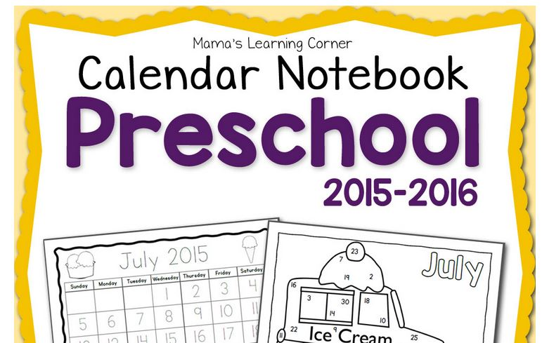 photo about Free Preschool Calendar Printables identified as No cost Printable Preschool Calendar Laptop :: Southern Savers