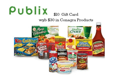 publix gift card conagra deal