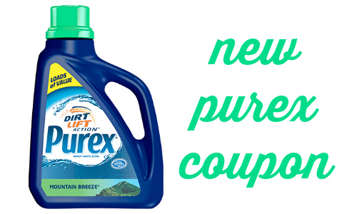 photograph regarding Purex Coupons Printable known as Purex Coupon + Laundry Detergent Discount codes :: Southern Savers