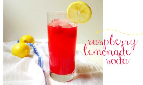 raspberry lemonade soda