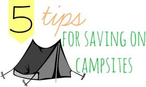 saving on campsites