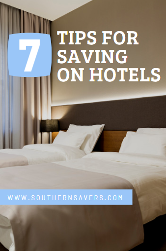 If you're trying to stay within a budget on your vacation, then saving on hotels is probably going to be your number one priority! Check out these 7 tips.