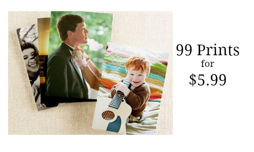 Shutterfly Discount Code: 99 Prints for $5.99 Shipped