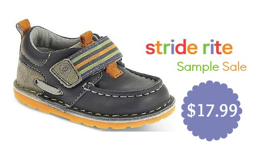 stride rite sample sale