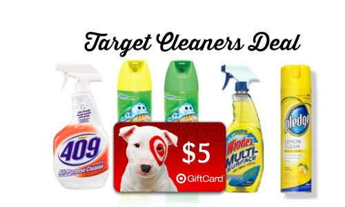 target cleaners deal