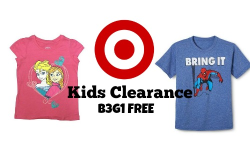 target clearance kids b3g1 free
