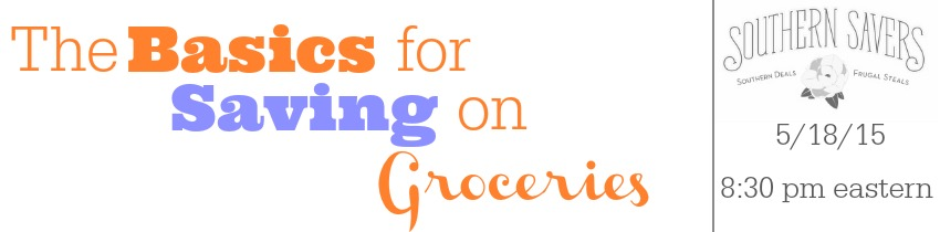 the basics for saving on groceries