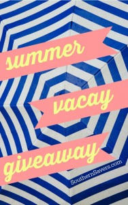 Enter the giveaway for all sorts of fun summer vacation treats!