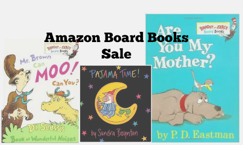 amazon board books sale