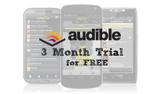 audible 3 month trial free