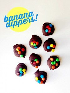 If you've got chocolate and bananas, you can make this yummy treat! Banana dippers are easy and fun for kids.