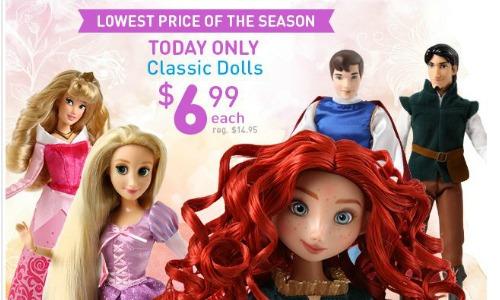 classic disney dolls