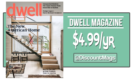 dwell magazine 499 a year