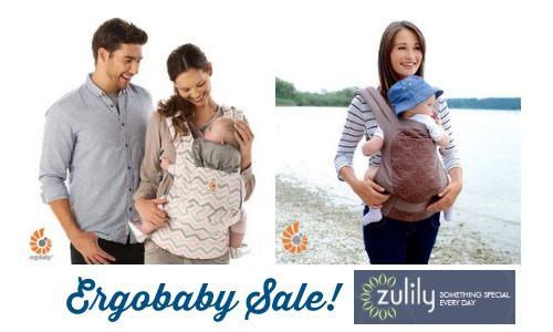 81a654aac73 Are you looking for good deals on baby gear  Zulily is currently offering a  sale with up to 50% off Ergobaby carriers!