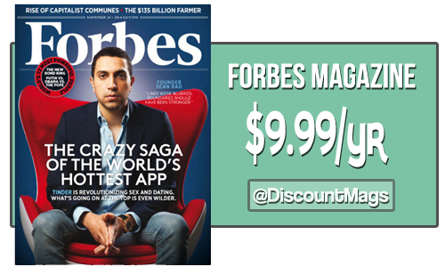 forbes magazine subscription deal