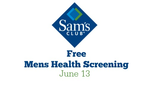 free mens health screening