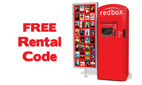 Redbox Code: Free 1 Day Rental