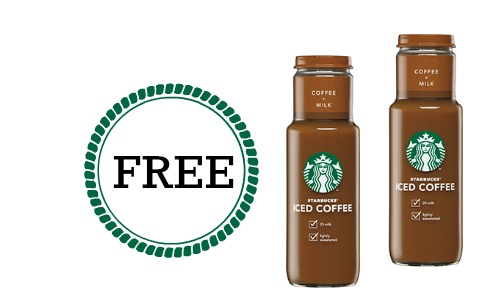 free starbucks iced coffee