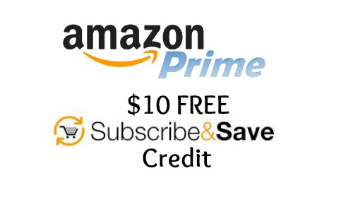 free subscribe and save credit