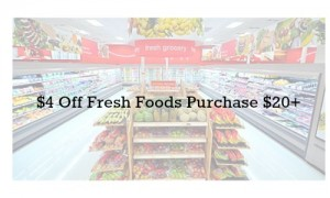 fresh foods target coupon