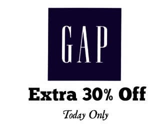 gap discount code extra 30 off