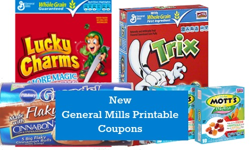 general mills printable coupons