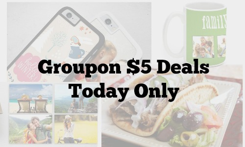 groupon five dollar deals