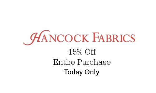 hancock fabrics coupon