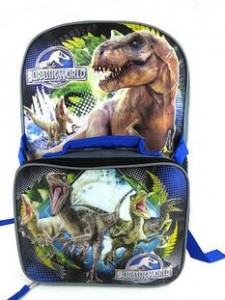 jurassic world back pack