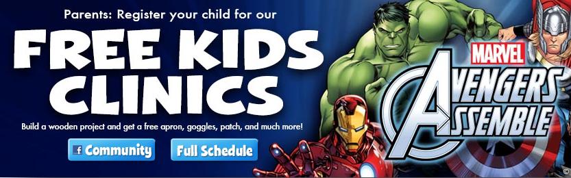 avengers kids clinic