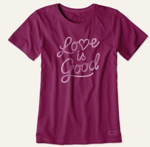 love is good tee