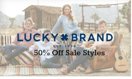 lucky brand sale 1