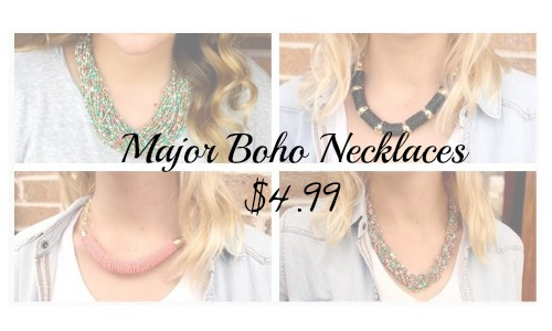 major boho necklaces