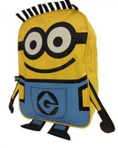 minions back pack
