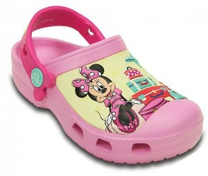 minnie crocs