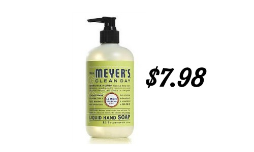 mrs meyers liquid hand soap