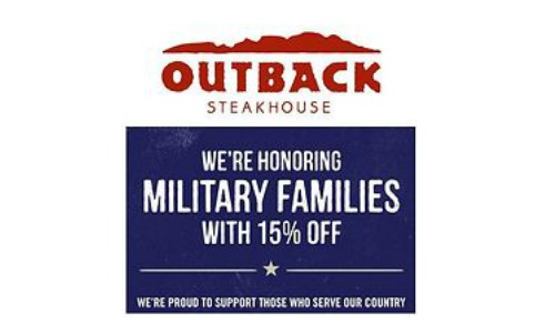 outback military discount