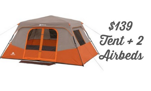 Planning on going c&ing this Summer or need to buy a new tent? Walmart is offering the highly rated Ozark Trail 8 Person 2 Room Instant Cabin Tent with 2 ...  sc 1 st  Southern Savers & Walmart Deal: Ozark Trail Tent Bundle $139 Shipped :: Southern Savers