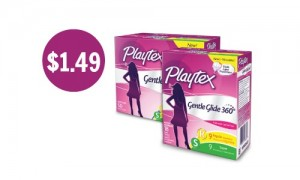 playtex gentle glide coupons