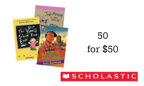 scholastic books deal