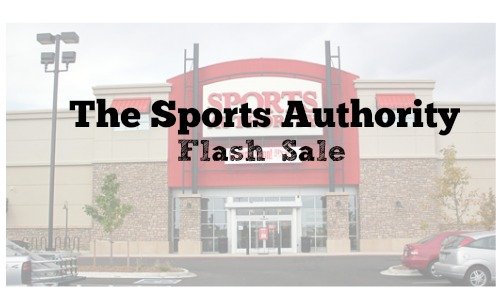 sports authority flash sale
