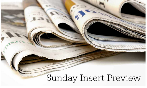sunday coupon insert preview 7/10