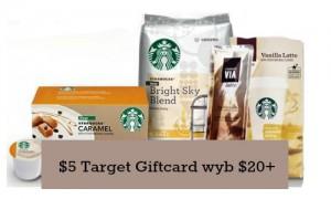 target starbucks coupon