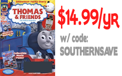 thomas and friends magazine button