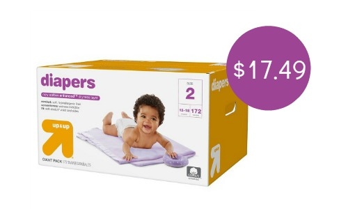 up and up diaper target deal
