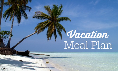 vacation meal plan