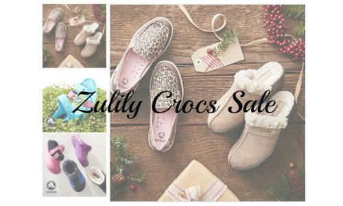 zulily crocs sale