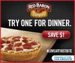Red Baron $1/2 Coupon & $50 Walmart Gift Card Giveaway (5 Winners)