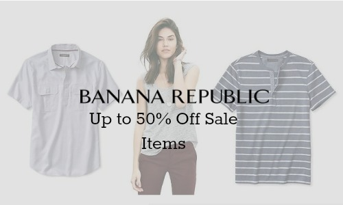 banana republic discount code